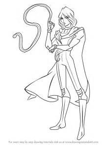 learn how to draw helia from winx club winx club step by