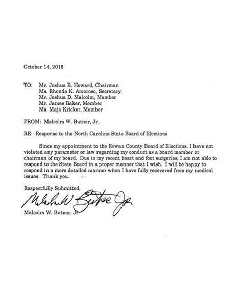 Sle Letter Removal From Board Of Directors