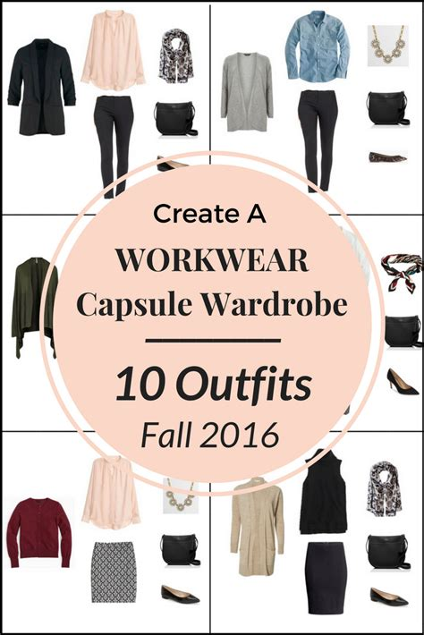 New Wardrobe On A Budget by Create A Workwear Capsule Wardrobe On A Budget 10 Fall