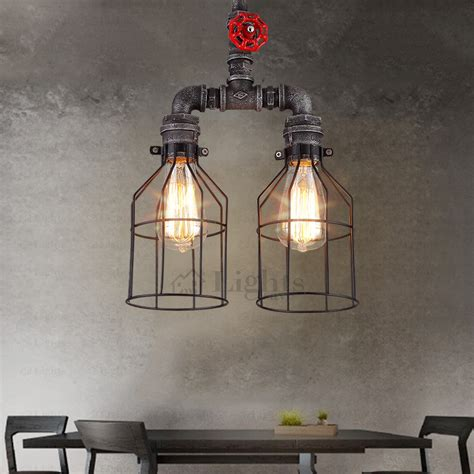 vintage industrial ceiling pendant light bathroom