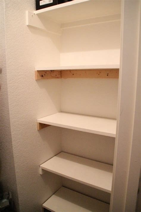 Building Closet Shelves by Diy Shelving Closet Projects For The Home