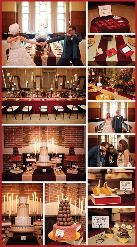 Harry Potter Wedding   Hogwarts Dining Hall Reception