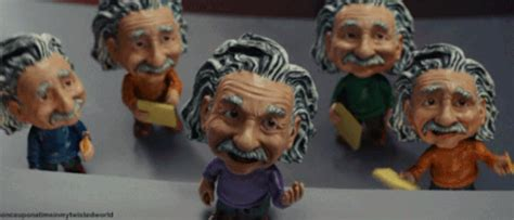 bobblehead einstein at the museum bobblehead gif find on giphy
