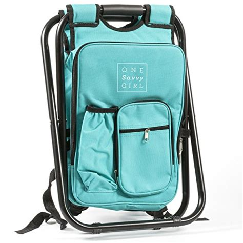 one savvy ultralight backpack cooler chair compact lightweight and portable folding stool