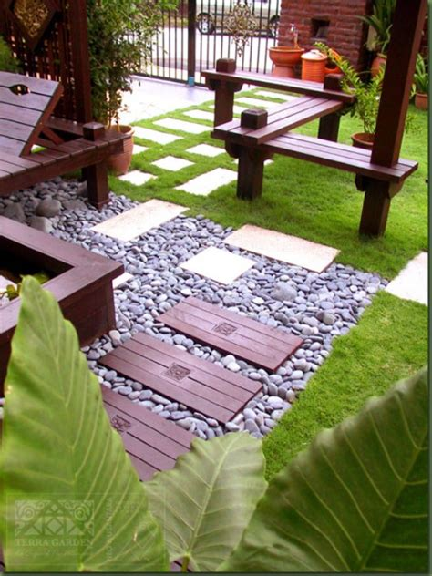 Simple Terrace Garden Decoration For Minimalist Home 4 Terrace Front Garden Ideas