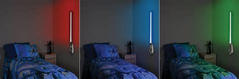 wars room light colorful character base wars lightsaber room light glowing with me
