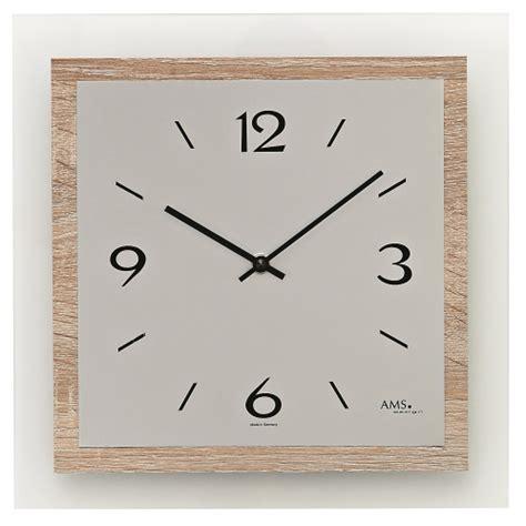 Wanduhr Eiche Modern by Moderne Wanduhren Quartz Kaufen Uhren Park De