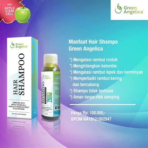 Shoo Green Rambut Bebas Rontok Dan Ketombe obat penumbuh rambut obat rambut cara penumbuh rambut