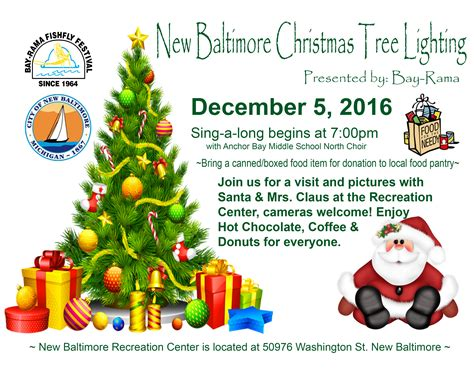 christmas tree lighting flyer 2016 171 bay rama inc
