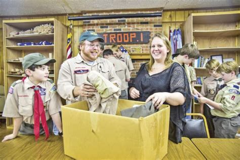 Boy Scout Office by Used Boy Scout Uniforms On A Drive Is On