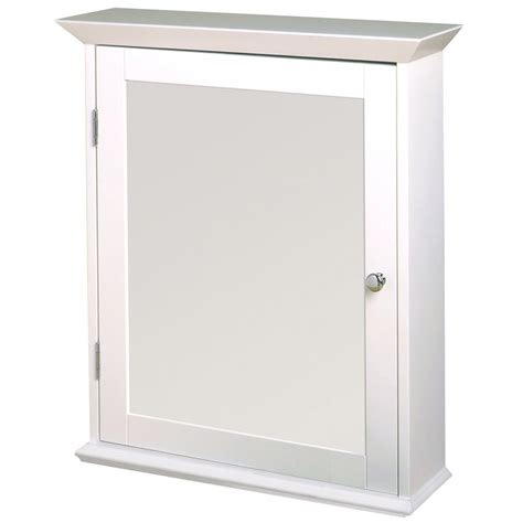 zenith 25 in white surface mount medicine cabinet lowe s