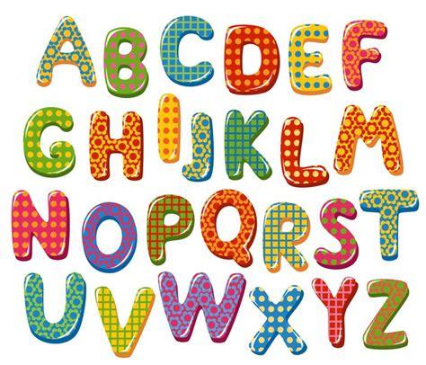 lettere alfabetiche carta da parati lettere alfabeto colorato pixers