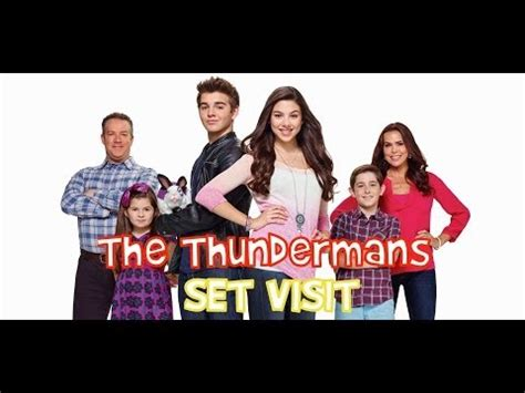 theme song young and hungry on set of nickelodeon s quot the thundermans quot 2013 10 31t19 55