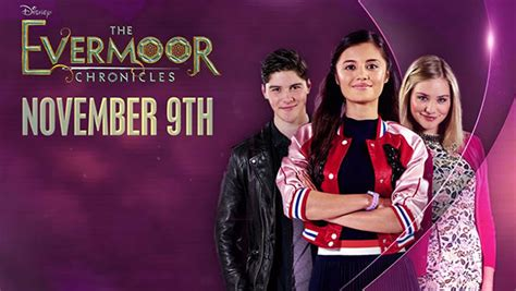 i tv show the evermoor chronicles disney channel uk series