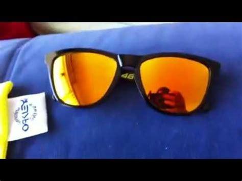 oakley vr46 frogskins unboxing youtube