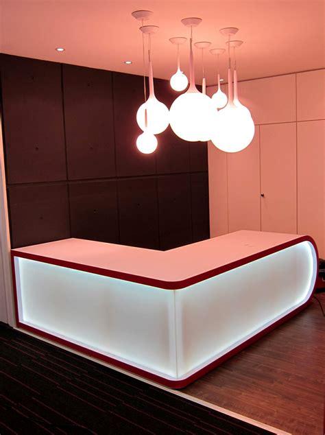 Led Reception Desk Reception Led Display Sdl Lighting
