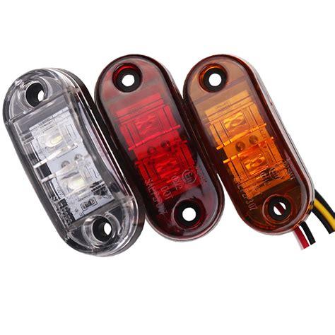 led marker lights 1pc 24v 12v led side marker lights for trucks side