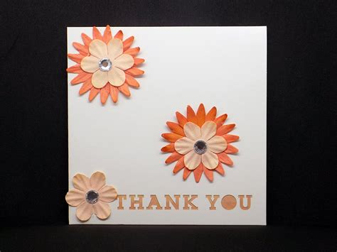 Handmade Cards Thank You - thank you greeting card handmade cards shropshire