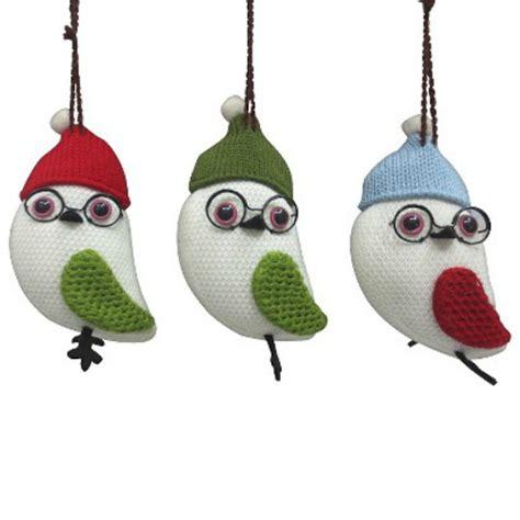 home decor bird christmas ornaments birds and blooms