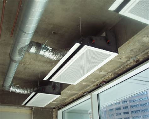 chilled beam induction units renovation of an induction system with active chilled beams retrofit