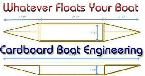 cardboard boat design blueprints cardboard boat designs cardboard boat engineering
