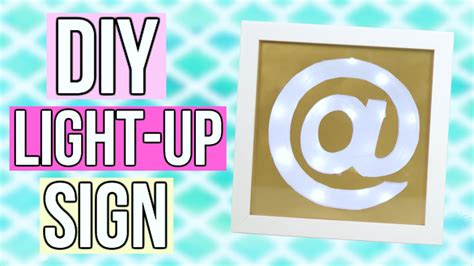 how to make a light up sign how to make your owngiant light up letters sustainable pals