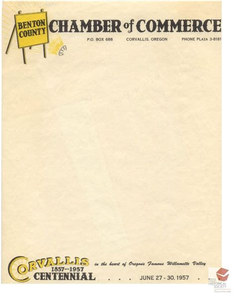 Letterhead Of A Chamber 271 Best Images About Benton County Oregon On Jewelry Stores Foggy Morning And Museums
