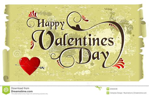 happy valentines day vintage happy valentines day vintage background stock vector