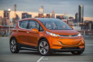Chevrolet Vehicles 2015 Naias 2015 Chevrolet Bolt Ev Debuts