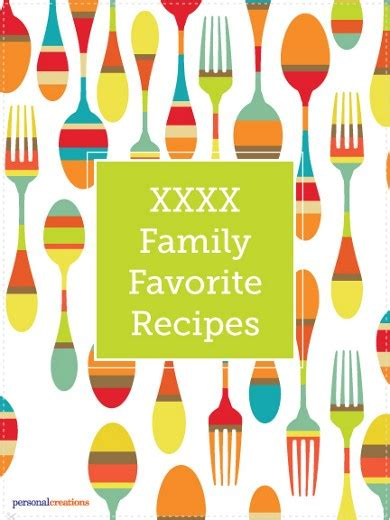 Recipe Book Cover Clipart