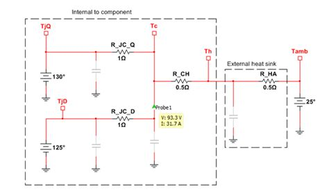 how to measure diode junction temperature multisim education edition help 372062l 01 national instruments
