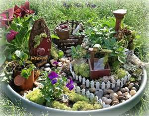 Pics photos miniature fairy gardens ideas and pictures