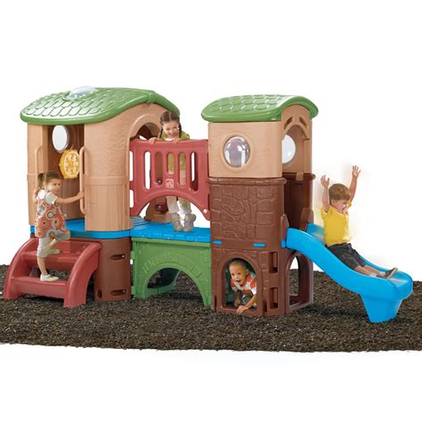 Clubhouse Climber Outdoor Play By Step2