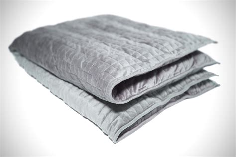 weighted comforter gravity weighted blanket hiconsumption