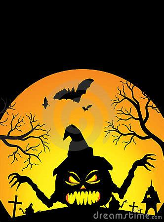 halloween poster stock photography image 6601272