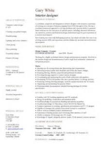Interior Designer Job Description Sample Brief