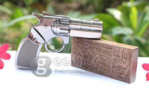 Flashdisk Pistol Usb 8 Gb pistol shaped 8gb usb 2 0 flash memory pen drive stick u disk