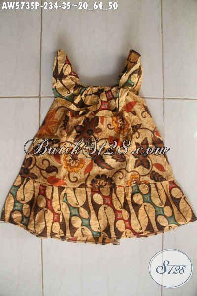 Daster Cewek Motif Lucu 4 baju batik anak cewek usia 2 hingga 4 tahun pakaian batik balita desain trendy lucu dan imut