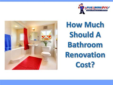 how much should a bathroom renovation cost