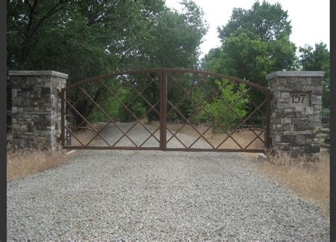 32 best images about driveway gates pillars on