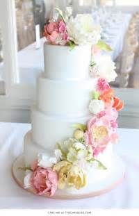 wedding cake flowers 10 flower cakes for