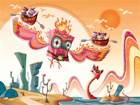 chris leavens los angeles based vector artist illustrator