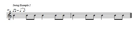 swing notation talking rhythm series recap musical u