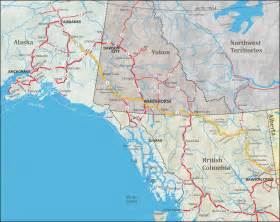 highway map with cities alaska maps of cities towns and highways