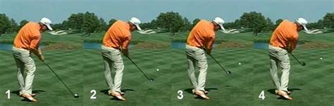 perfect left handed golf swing left arm