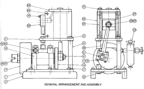 Pompa Air Steam Mini polka marine pengenalan mesin penggerak kapal