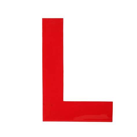 L In The by Enamel Letter L By Fab Fab