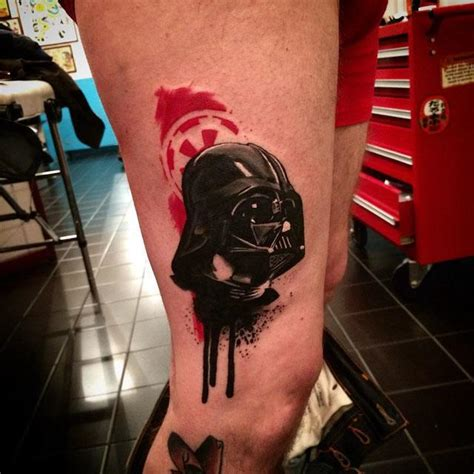 aquarelle realistic vader tattoo best tattoo ideas gallery