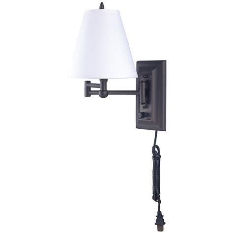 bathroom light fixture with on off switch swing arm wall fixture on off switch fabric shade