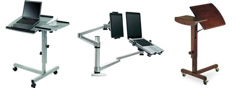 laptop stand recliner organize a comfy working place with a swivel laptop stand